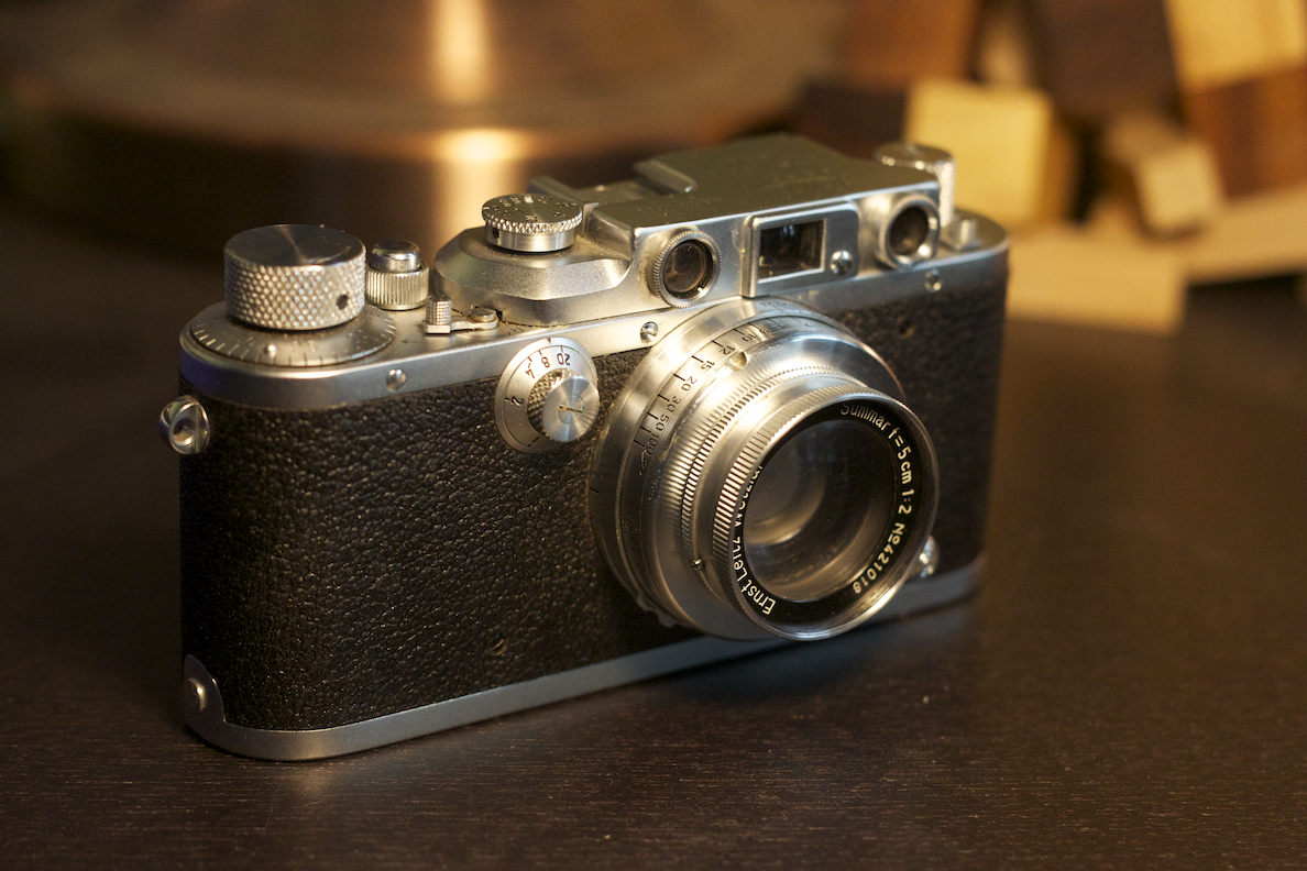 My Grandfather's Leica